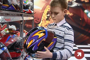 В «Xtreme Indoor Karting» дети смогут  и обучиться управлению картом.