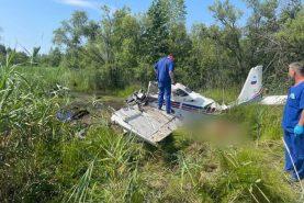 фото При падении самолета под Хабаровском погиб один человек