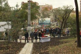 Стелу в честь подвига коренных народов Севера открыли в Хабаровске