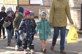 Воспитанников детского сада в Хабаровске учат сортировать отходы
