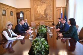 Михаил Дегтярев обсудил с председателем Дальневосточного банка ПАО «Сбербанк» долгосрочное партнерство и сотрудничество